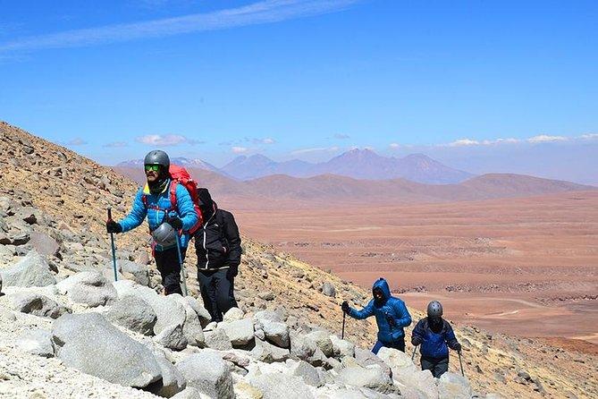 Ascent Cerro Toco
