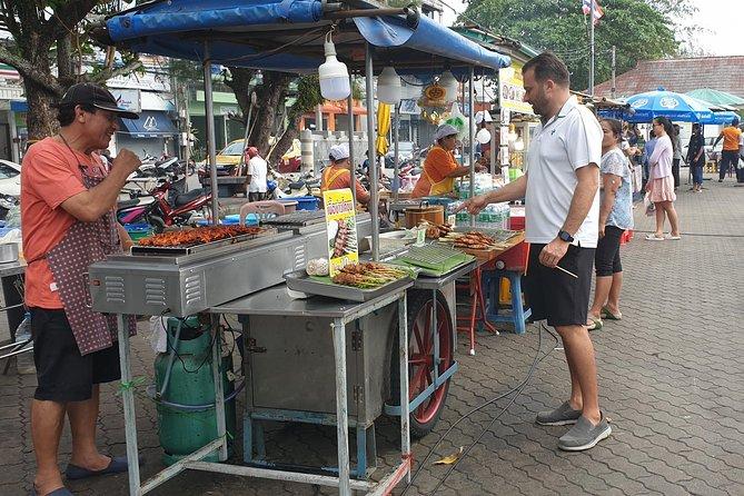 Sunset Street Food Tour in Nathon Town
