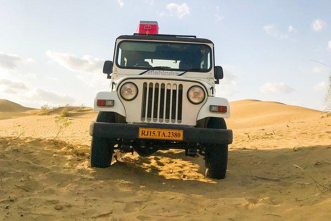 4x4 Jeep Desert Safari (NO Camel)