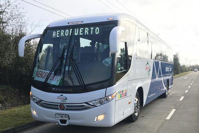 Bus El Tepual Airport To Puerto Montt Bus Terminal
