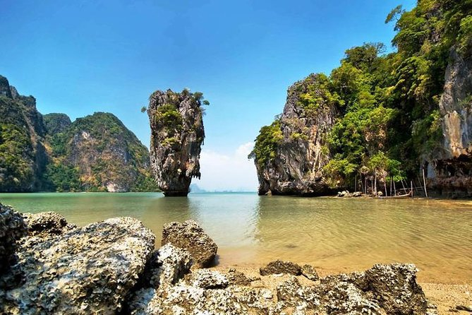 James Bond Island Canoeing 7 Point 5 Island By Speedboat From Phuket
