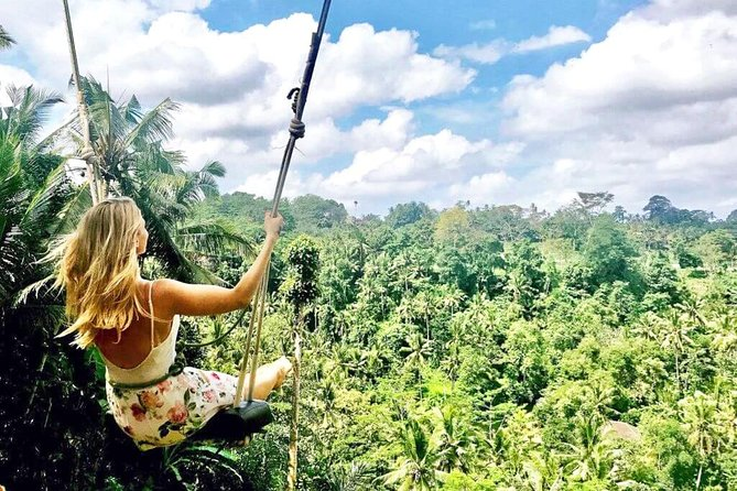 Best Visit of Ubud Tour with Jungle Swing
