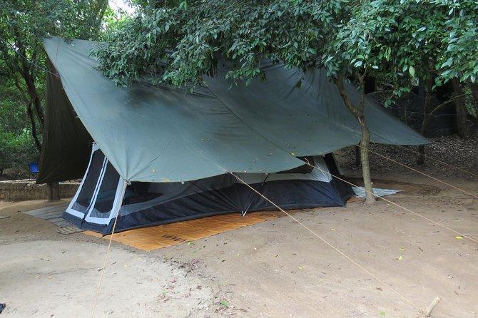 Camping in Wasgamuwa National Park
