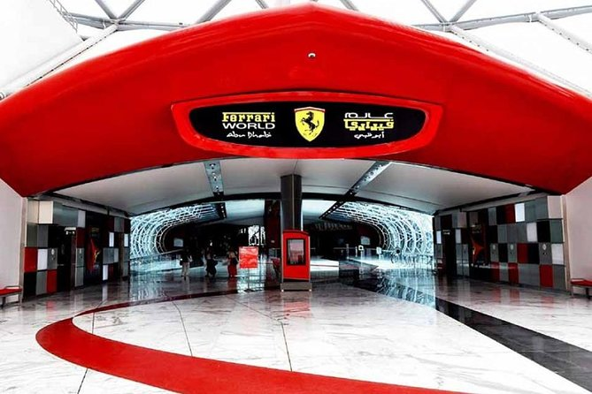 Skip the Line: Ferrari World Ticket Without Transfer