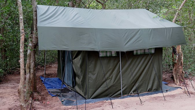 One Night Camping in Kumana National Park