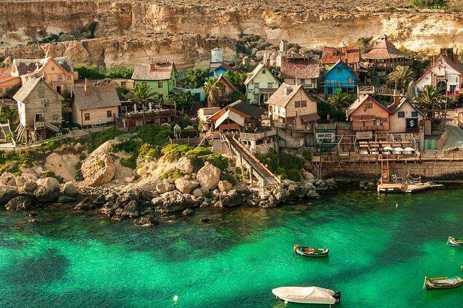 Malta Private Minivan Tour: Popeye village/Mdina/Valletta & Many More