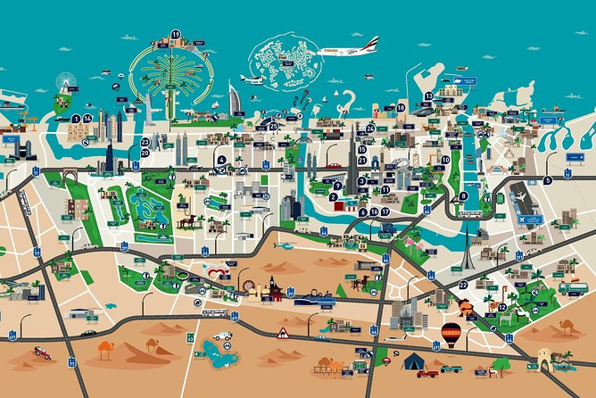 Alpha pass attractions including Water parks and Burj Khalifa