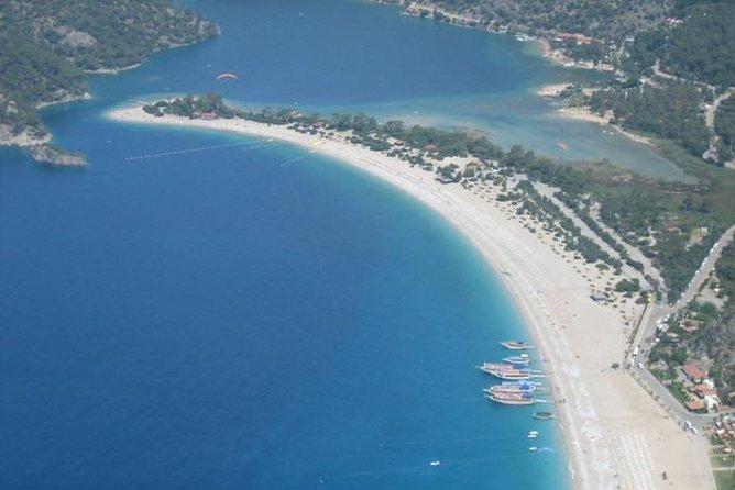 Paragliding over the Blue Lagoon in Olu Deniz