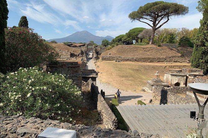 Transfer Naples to Sorrento and stop in Pompeii