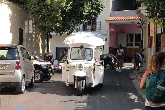 Complete City Center Tour - Electric Tuk Tuk Athens (3 hours)