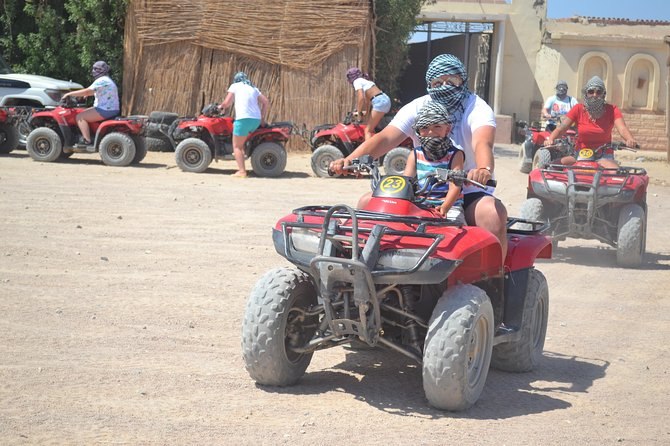 Super Safari Excursion with ATV Quad & Sunset - Marsa Allam