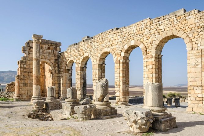 From Fes to Visit Volubilis and transfer to Rabat (Drop off)