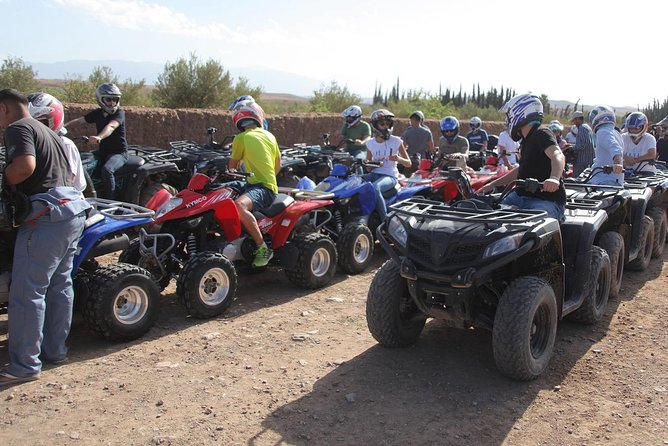 Quad at the Desert d'Agafay