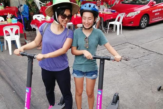 Bangkok Old City Tour by electric scooters photo 9