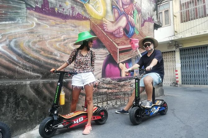 Bangkok Old City Tour by electric scooters photo 7