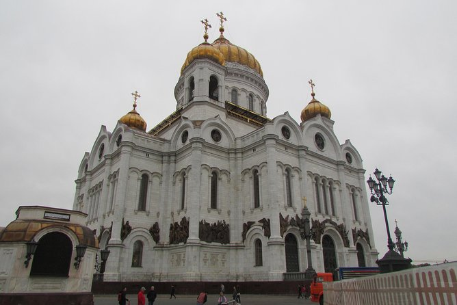 Top 10 Attractions of Moscow .Walking tour