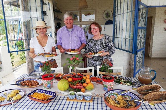 Organic farm tour with a taste of Moringa!