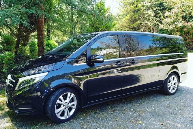 LUX car MB V-class with Private driver in Helsinki