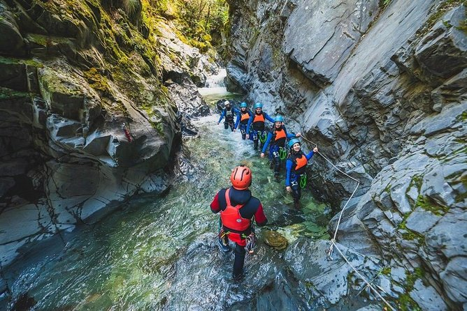 Half Day Canyoning Experience Queenstown