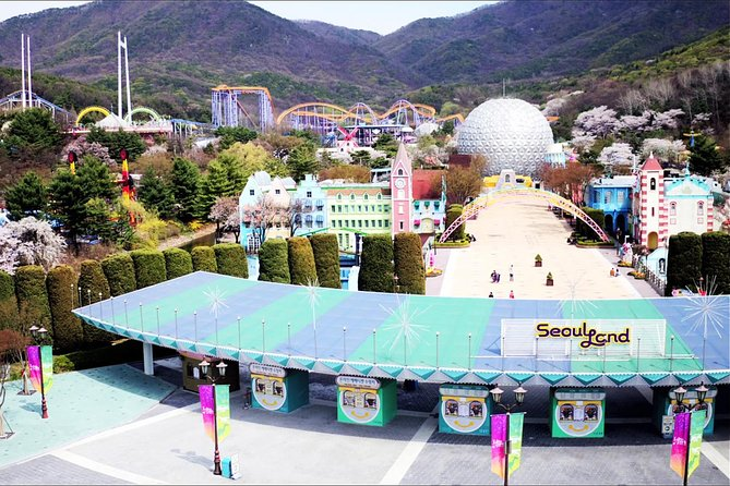 Seoulland Theme Park Discount Tickets - Luna park photo 3