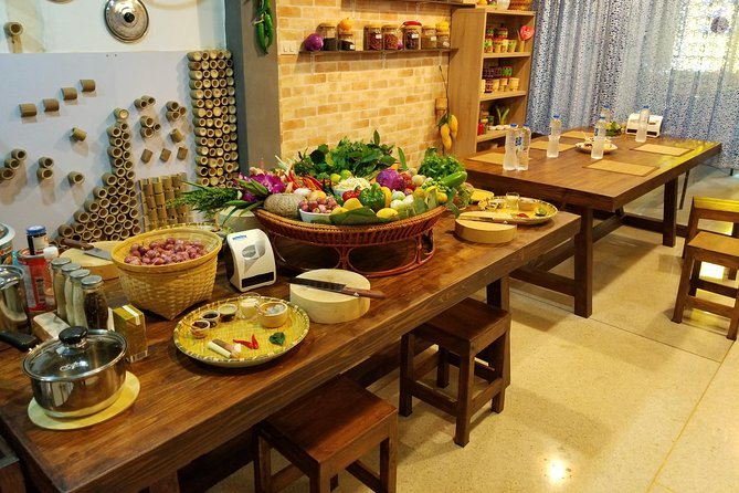 Thai cooking class with morning market tour at Silom photo 4