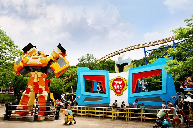 Seoulland Theme Park Discount Tickets - Luna park photo 11
