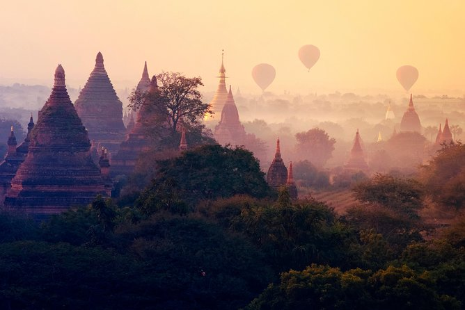 Bagan: Full-day Sightseeing & Sunset Boat Ride