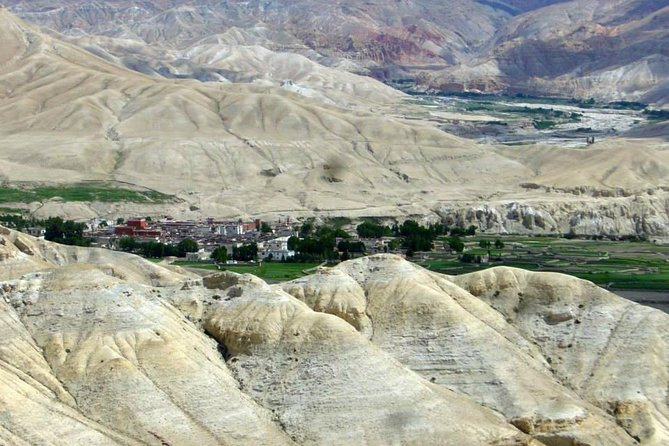 village in Mustang