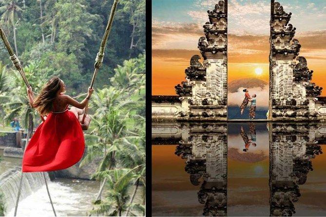 Bali Instagram Tour dan Sunset at gate of heaven