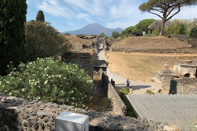 Transfer Naples to Positano and stop in Pompeii