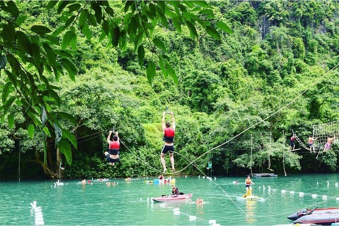 Visit Paradise Cave And Experience Zip Line At Dark Cave