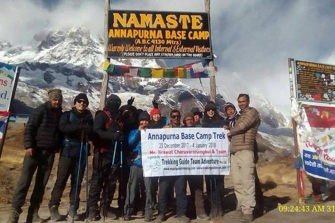 Short Annapurna Base Camp Trek - 7 Days