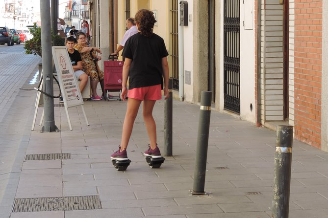 Rental of electric skates