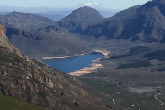 View of the Wemmershoek Dam from the Lookout Point