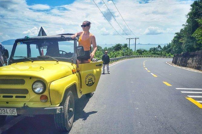 Jeep tour between Hue An Hoi An Via Hai Van Pass