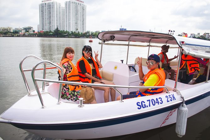 Morning Cu Chi Tunnels Luxury Speedboat