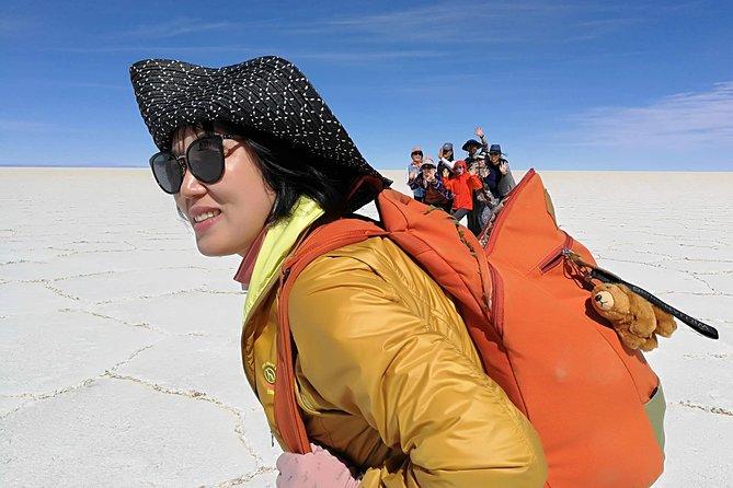 Salar de Uyuni with lodging - 3 full days - With lagoons