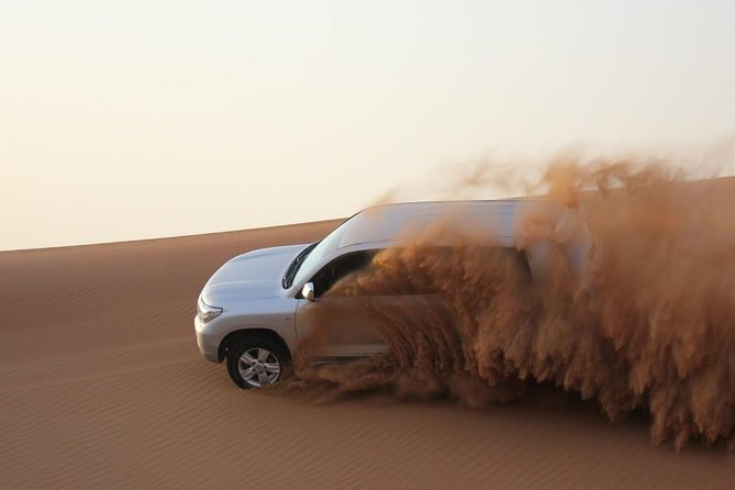 Private - Red Dune Desert Safari with 45 Minutes Dune Bashing and Camel Ride