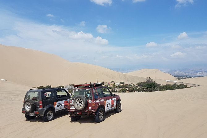 Full day Huacachina: all terrain adventure and sand sliders