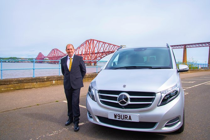 Edinburgh to Glasgow Luxury Transfer with Scottish Driver
