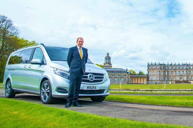 Edinburgh to Edinburgh Airport Luxury Transfer with Scottish Driver