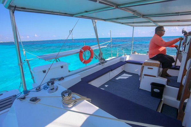 Private Isla Mujeres Catamaran Tour - Manta Boat - For up to 40 people photo 3