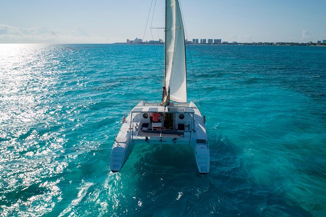 Private Isla Mujeres Catamaran Tour - Manta Boat - For up to 40 people photo 4
