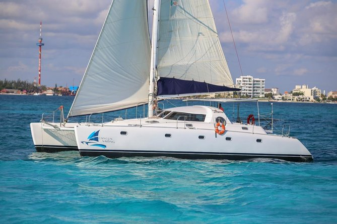 Private Isla Mujeres Catamaran Tour - Manta Boat - For up to 40 people photo 2