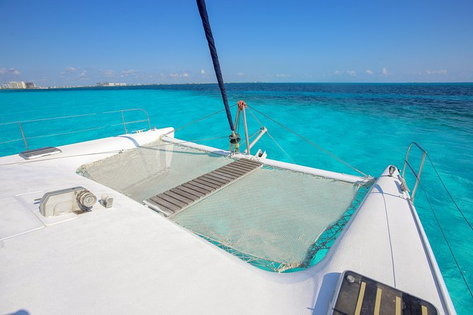 Private Isla Mujeres Catamaran Tour - Manta Boat - For up to 40 people photo 8