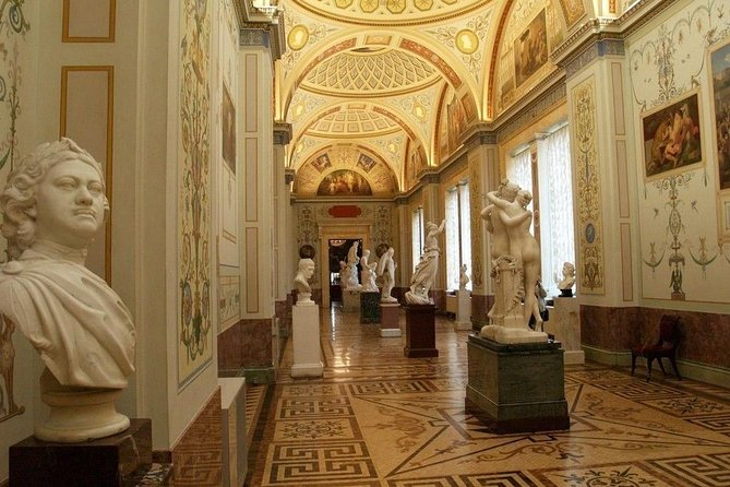 Private City Tour + The Usupov Palace + The Hermitage Museum