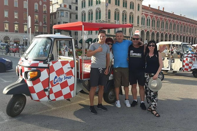 Quick Tuk Tuk City Tour Split - Large Vehicle