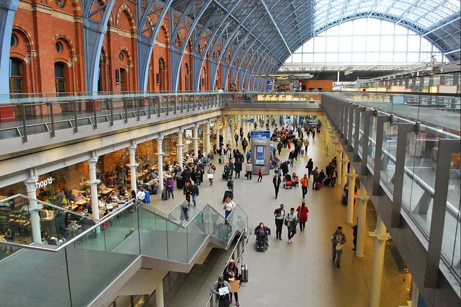 Arrival St Pancras Train Station to London Private Transfer Service