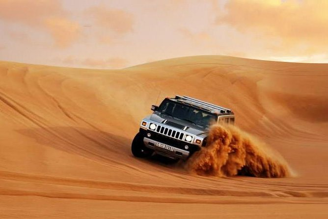 Private - Hummer Desert Safari with BBQ Dinner, Camel Ride and Belly Dance