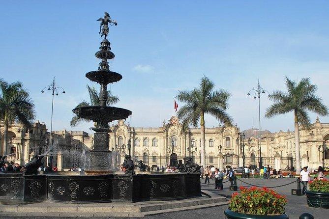 Tour colonial y vida contemporánea de la ciudad de Lima